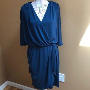 Suzi Chin for Maggy Boutique Blue Dress 14